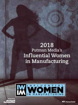 Influential Women in Manufacturing Cover