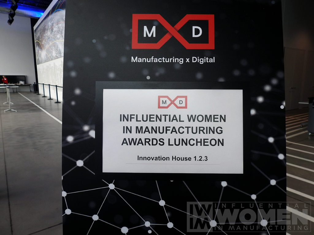 The 2019 Influential Women in Manufacturing awards luncheon took place at MxD on Manufacturing Day, Oct. 4. The Luncheon honored 27 women across the manufacturing field.