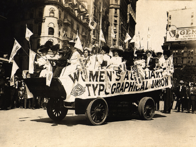 Labor Day, September 1909